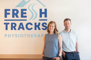 Fresh Tracks Physiotherapist and Clinic Owners, Dustin and Lissa Fraser